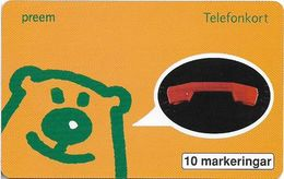 Sweden - Telia - Preem Petroleum AB - 10.1996, 10U, 5.500ex, Mint (check Photos) - Sweden