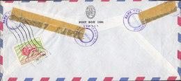Iran THE IRANO-BRITISH BANK, Registered Einschreiben TEHRAN 1962 Meter Cover Freistempel Brief Zwangzuschlagmarke - Iran