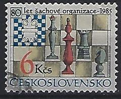 Czechoslovakia 1985  80th Ann. Of Chess Organization (o) Mi.2811 - Czechoslovakia