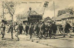China, PEKING PEIPING, Chinese Funeral Procession (1910s) Postcard - China
