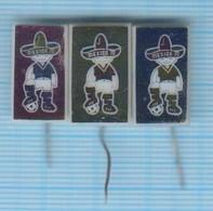 USSR / Badges / Soviet Union / UKRAINE. Football. FIFA Cup World Championship Mexico 70. 1970 - Football