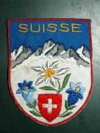 ECUSSON  TOURISTIQUE TISSUS  SUISSE - Ecussons Tissu