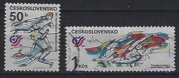 Czechoslovakia 1985  National Spartakiad (o) Mi.2817-2818 - Czechoslovakia