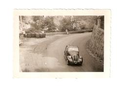 """FO--157-- FOTO ORIGINALE - AUTOMOBILE """" FIAT TOPOLINO CONVERTIBILE """"- - Automobili"""