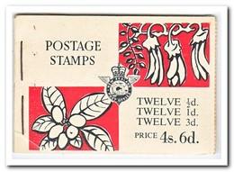 Nieuw Zeeland 1960, Postfris MNH, Flowers ( Booklet, Carnet ) - Boekjes