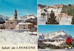 12487-SALUTI DA LAVARONE(TRENTO)-FG - Saluti Da.../ Gruss Aus...
