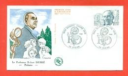 MEDICINA- PEDIATRIA -ROBERT DEBRE' - PEDIATRE -1978 - Francobolli