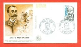 MUSICA - ANDRE' MAEESAGER - MUSICISTA LIRICO - 1983 - MARCOFILIA - Musica