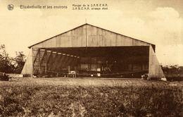Cpa CONGO BELGE - ELISABETHVILLE, Hangar De La SABENA - Congo Belge - Autres