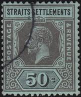 Straits Settlements   .   SG     .    209        .      O         .     Cancelled      .   /    .  Gebruikt - Straits Settlements