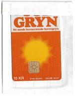 Denmark - Danmønt - Sol Gryn - DB029 - 10Kr. Exp. 09.1997, 1.498ex, NSB - Denmark