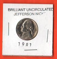 USA 5 Cents 19781 D Jefferson  UNC - Emissioni Federali