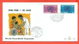 MEDICINA - GIORNATA MONDIALE DELLA SANITA' - SURINAME - PARAMARINO 1963  - MARCOFILIA - Francobolli