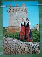 Kov R22-3 - NATIONAL COSTUME, FOLKLORE, OLIB, CROATIA - Costumes