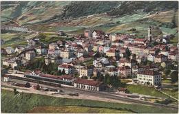 Airolo - Ferrovia Del Gottardo - & Railway Station - TI Tessin
