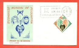 MEDICINA - PSICHIATRIA - CONGRESSO MONDIALE 1966 - SPAGNA - MARCOFILIA - Francobolli