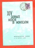 MEDICINA - GIORNATE MEDICHE - MONTECATINI TERME - - Francobolli
