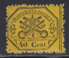 Etats Pontificaux 1868 Yvert 24 ** TB - Kerkelijke Staten