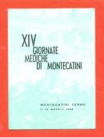 MEDICINA - GIORNATE MEDICHE - MONTECATINI TERME - VIAGGIATA 1968 - Cartoline