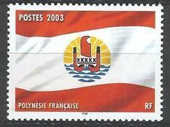 """Polynésie YT 697 """" Drapeau Polynésien """" 2003 Neuf** - Polynésie Française"""
