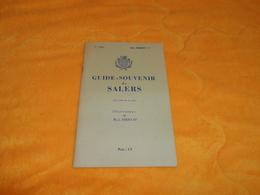 GUIDE SOUVENIR DE SALERS 16 PAGES....DATE ?... - Tourism Brochures