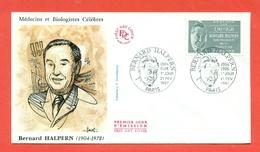 MEDICINA - BERNARD HALPERN - MEDICO E BIOLOGO - FRANCIA 1978 - MARCOFILIA - Francobolli