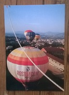 Carte Postale / Mongolfiere , Ballons Du Raid Annonay - Moscou 1994 - Balloons