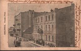 ! Alte Ansichtskarte Pabianice, Poczta, Postamt, 1915, Polen, Poland, Pologne - Pologne