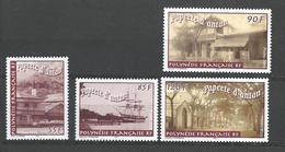 "Polynésie YT 685 à 688 "" Papeete D'antan "" 2003 Neuf** - Polinesia Francese"