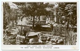 LONDON : KENSINGTON - THE DERRY ROOF GARDENS - ROCK GARDEN AND SUN PAVILION - London Suburbs