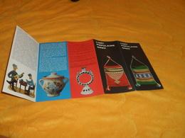 DEPLIANT L'ART POPULAIRE GREC.../ GRECE...ANNEE 1965.. - Tourism Brochures