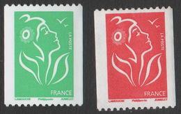 France Neuf Sans Charnière 2005 Marianne Du Lamouche Provenant De Roulette YT 3742 3743 - 2004-08 Marianne Of Lamouche