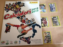 Calciatori 2012/13, Album Vuoto+V1al V8 Da Edicola Panini Modena - Edizione Italiana