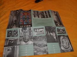 DEPLIANT FRANCE BERRY LE CHER...DATE ?... - Tourism Brochures