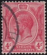 Straits Settlements   .   SG     .    222      .      O         .     Cancelled      .   /    .  Gebruikt - Straits Settlements