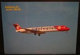 EDELWEISS AIR Swizerland Douglas MD-83 DC-9-83 AROSA HB-IKM - 1946-....: Era Moderna