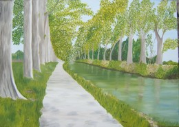 Canal Du Midi - Oils