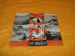 DEPLIANT ESPAGNE SAN SEBASTIAN...DATE ?... - Tourism Brochures