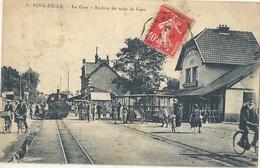 CPA Riva Bella La Gare - Arrivée Du Train De Caen - Riva Bella