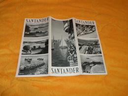 DEPLIANT ESPAGNE SANTANDER...DATE ?... - Tourism Brochures