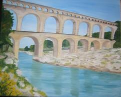 Le Pont Du Gard - Oils