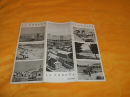 DEPLIANT ESPAGNE LA CORUNA...DATE ?... - Tourism Brochures