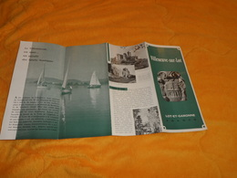 DEPLIANT VILLENEUVE SUR LOT LOT ET GARONNE FRANCE...DATE ?... - Tourism Brochures