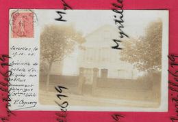 Carte-photo Sarcelles - 1904 - Lieux