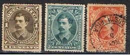 COSTA RICA 34 // YVERT 19, 20, 21 // 1889 - Costa Rica