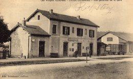 DPT 88 LIFFOL-LE-GRAND Vue Générale De La Gare - Liffol Le Grand