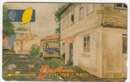 GRENADA(GPT) -  Street Scene Gouvyave, CN : 8CGRC, Tirage 11170, Used - Grenada