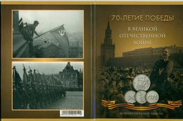 Russia, 2014-2015, 21 Coins In Album( 18 X 5 Rbl &  3 X 10 Rbl) - Russland
