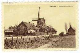 ASSENEDE - Landschap Met Molen - Assenede
