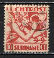 SURINAME - 1930 - ALLEGORIA DEL VOLO . USATO - Suriname